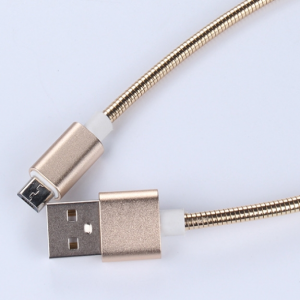 Durable Metal Braided Fast Charging USB Cable