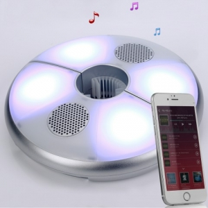 Umbrella LED Light Camping Lamp & Speaker