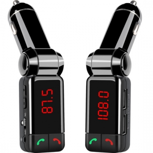 Bluetooth FM Transmitter with Dual USB port